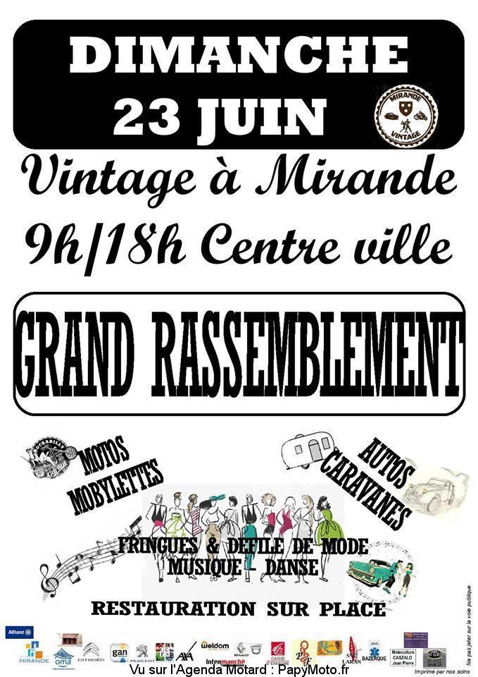 MANIFESTATION - Rassemblement - Dimanche 23 Juin 2019 - Mirande  Grand-14