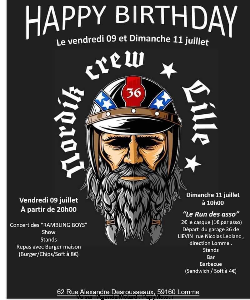 MANIFESTATION - Nordik Crew lille . Vendredi 9 & Dimanche 11 Juillet 2021 . Lomme 59160 Happy-14