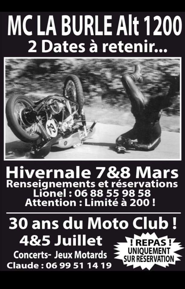 MANIFESTATION - Hivernale - 7 & 8 Mars 2020 - Fay -Sur - Lignon (43) Hivern23