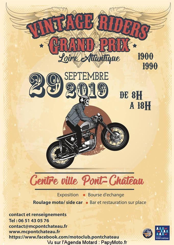 MANIFESTATION - Vintage Riders - Dimanche 29 Septembre 2019 - Pont - Château  Httpsw10
