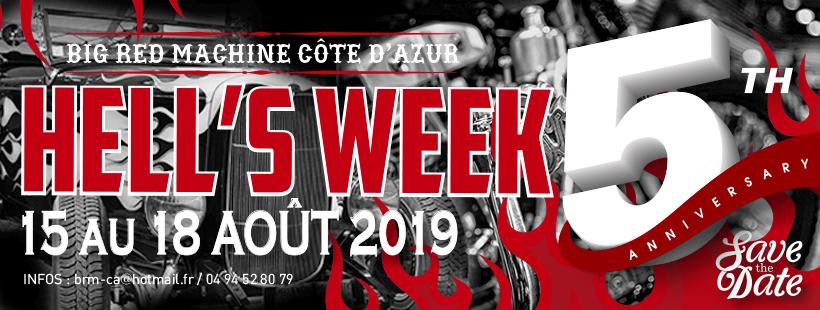 5 éme anniversaire HELL'S WEEK - 15 au 18 aout 2019 Roquebrune / Argens - Cote D'azur Hw201912