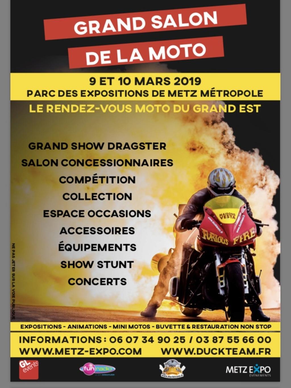 Salon de la Moto - 9 & 10 mars 2019 - Parc des Expositions  de METZ Métropole Illust12