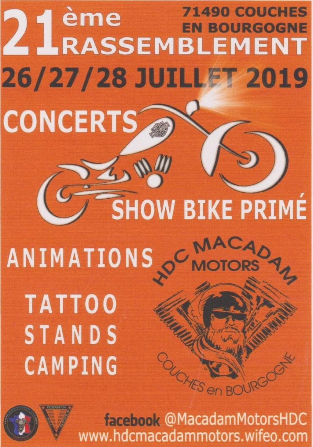 Rassemblement - 26 - 27 -  28 Juillet 2019 - Couches (71490) Illust18
