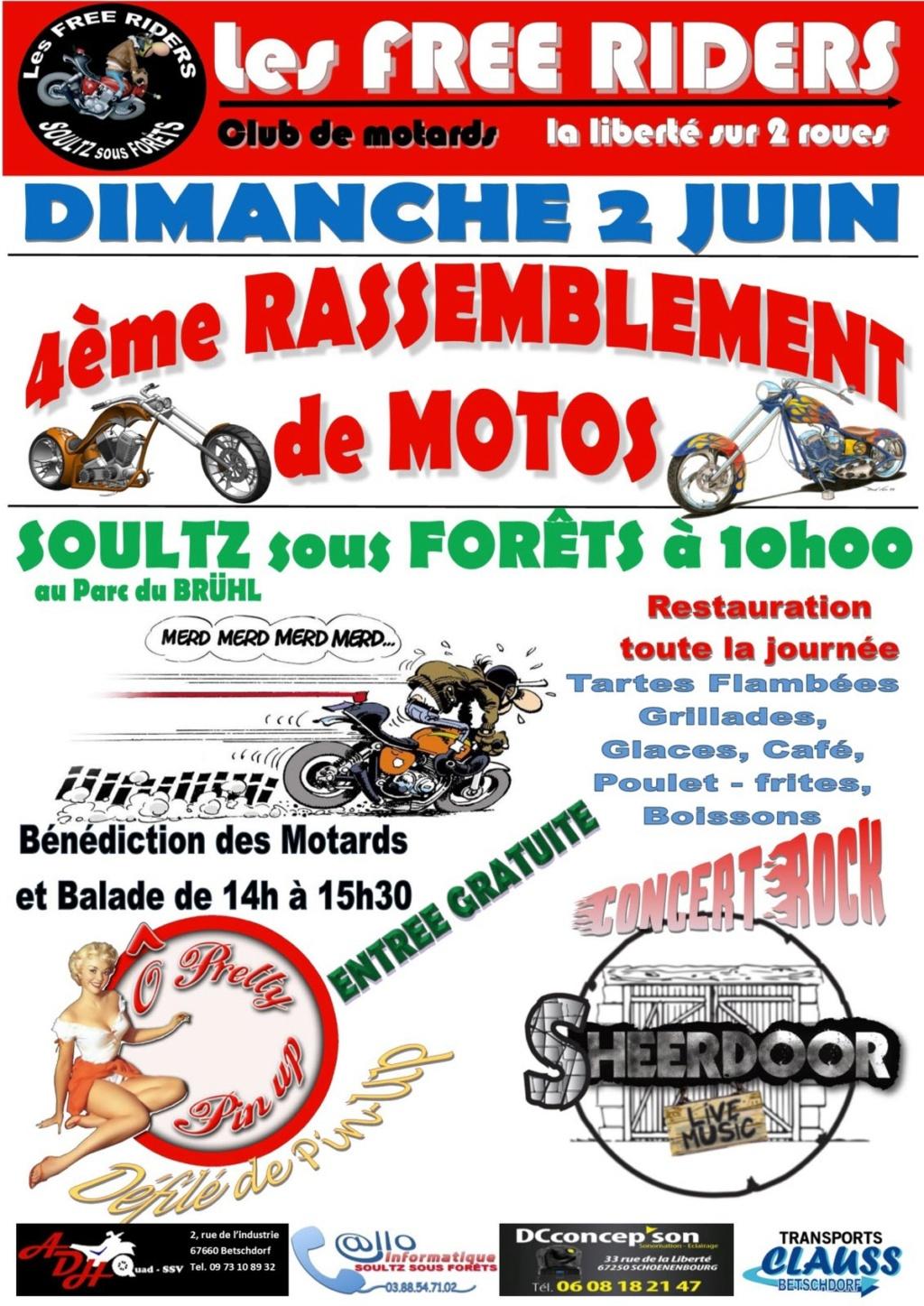 MANIFESTATION - Rassemblement - Dimanche 2 Juin 2019 -Soultz sous Forets  Illust19