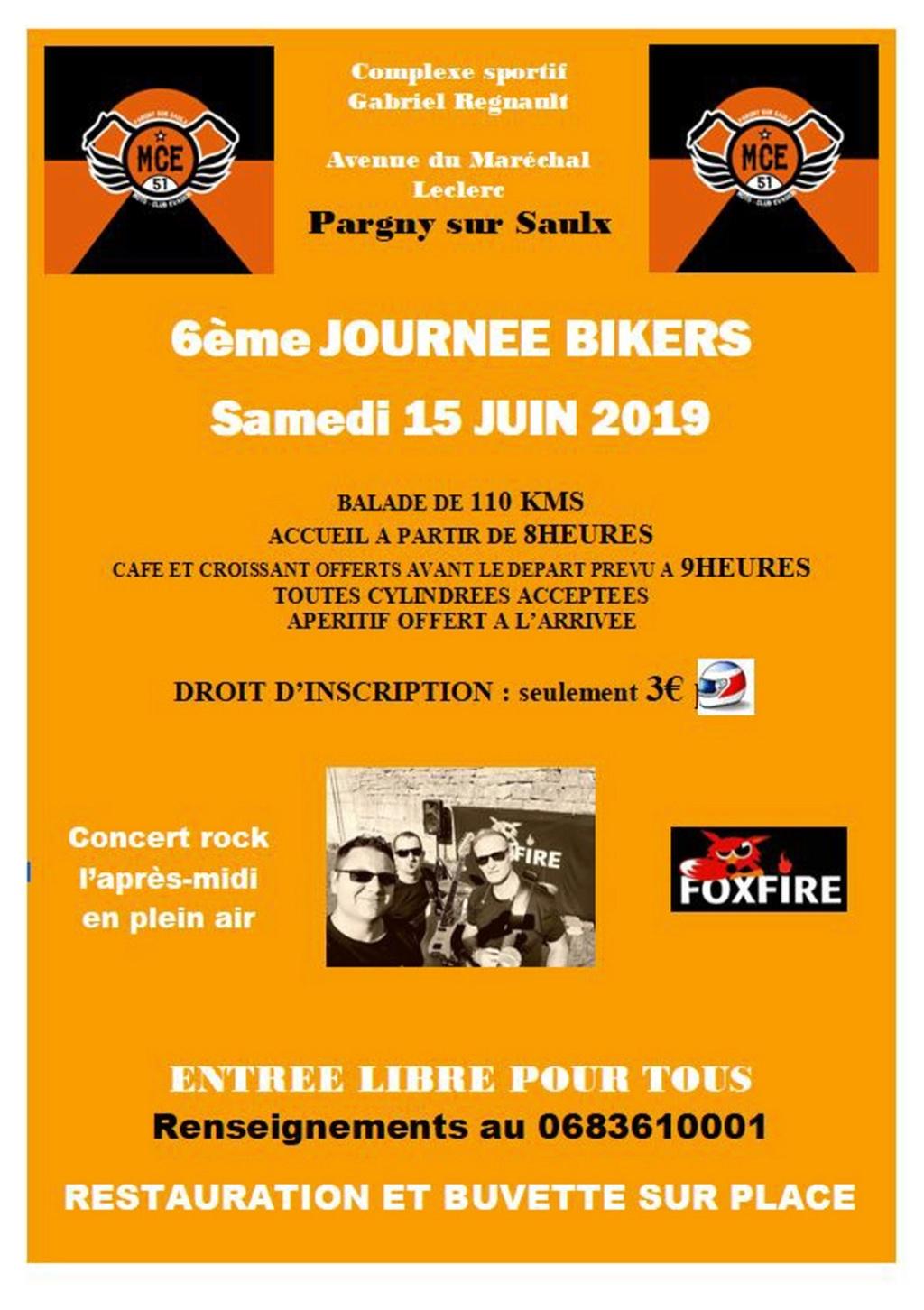 MANIFESTATION - Journée Biker - Samedi 15 Juin 2019 - Pargny- sur - Saulx Illust20