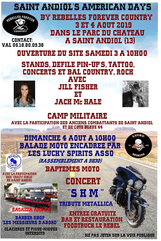 MANIFESTATION - Américan Days - 3 & 4 AOUT 2019 - Saint Andiol (13) Image157