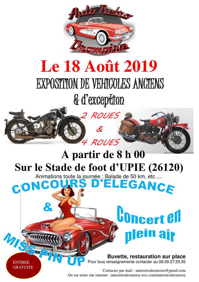 MANIFESTATION - Exposition - 18 AOUT 2019- UPIE (26120) Image161