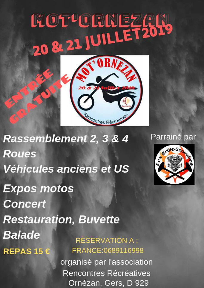 MANIFESTATION - Rassemblement  - 20 & 21 Juillet 2019 - ORNEZAN Image163