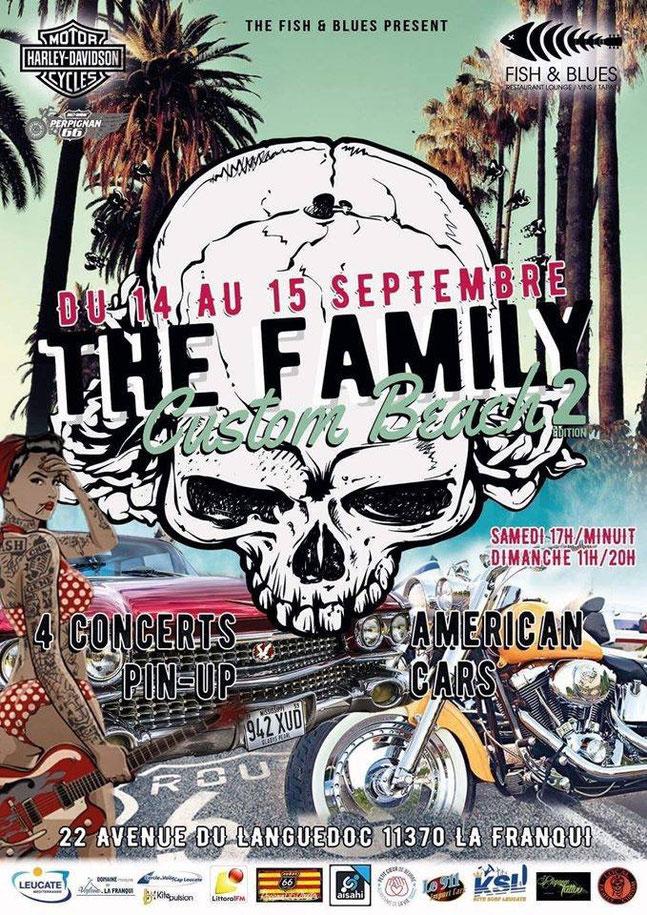 MANIFESTATION - Custom Beach 2 - du 14 au 15 Septembre 2019 - La Franqui (11370) Image180