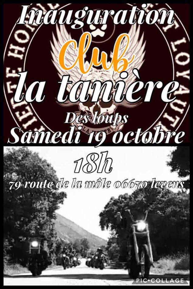 MANIFESTATION - Inauguration Club la Taniére des Loups - 19 Octobre 2019 -Levens (06670) Image206