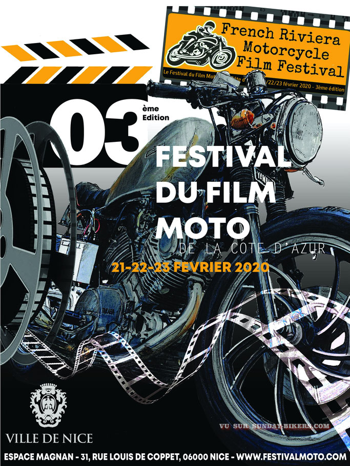 MANIFESTATION - Festival du Film Moto - 21 - 22 - 23 Février 2020 - Nice (06000) Image215