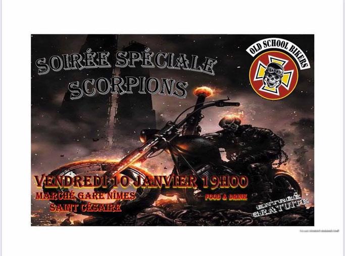 MANIFESTATION - Soirée Spéciale Scorpions - Vendredi 10 Janvier 2020 - Saint Césaire (30) Image216
