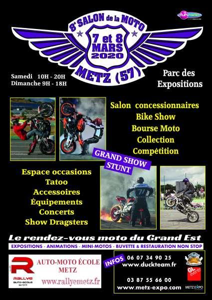 MANIFESTATION - 8ème Salon de la Moto - 7 & 8 Mars 2020 - Metz (57) Image222