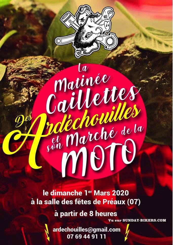 MANIFESTATION - Marché de la Moto - 1er Mars 2020 - Préaux (07) Image224