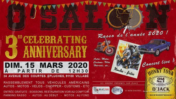 MANIFESTATION  - Rassemblement - Dimanche 15 Mars 2020 - Villabé (91100) Image225