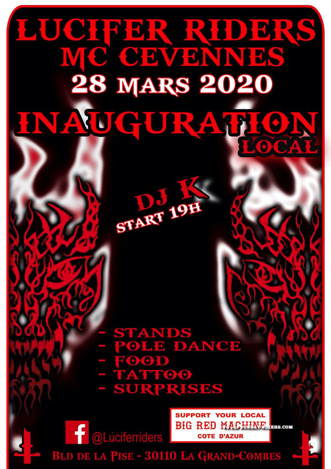 MANIFESTATION - Inauguration Local MC - 28 Mars 2020 - La Grand - Combes  (30110) Image232