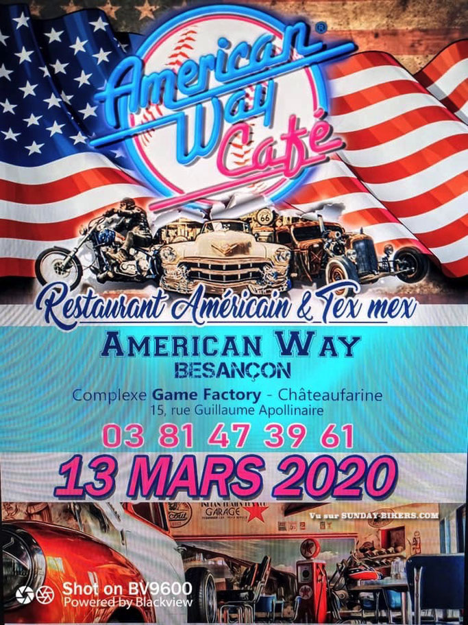 MANIFESTATION - Américan Way Café - 13 Mars 2020 - Châteaufarine ( Besanançon ) Image233