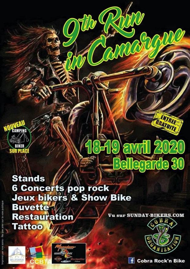 MANIFESTATION - 9 th Run in Camargue - 18 & 19 Avril 2020- Bellegarde (30) Image234