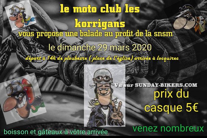 MANIFESTATION  - Balade Moto - Dimanche 29 Mars 2020 - Ploubezre (22300) Image235