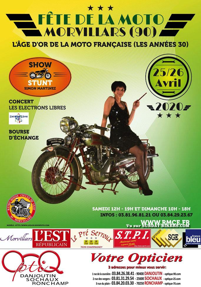 MANIFESTATION - Fête de la Moto - 25 & 26 Avril 2020 - Morvillars (90) Image236