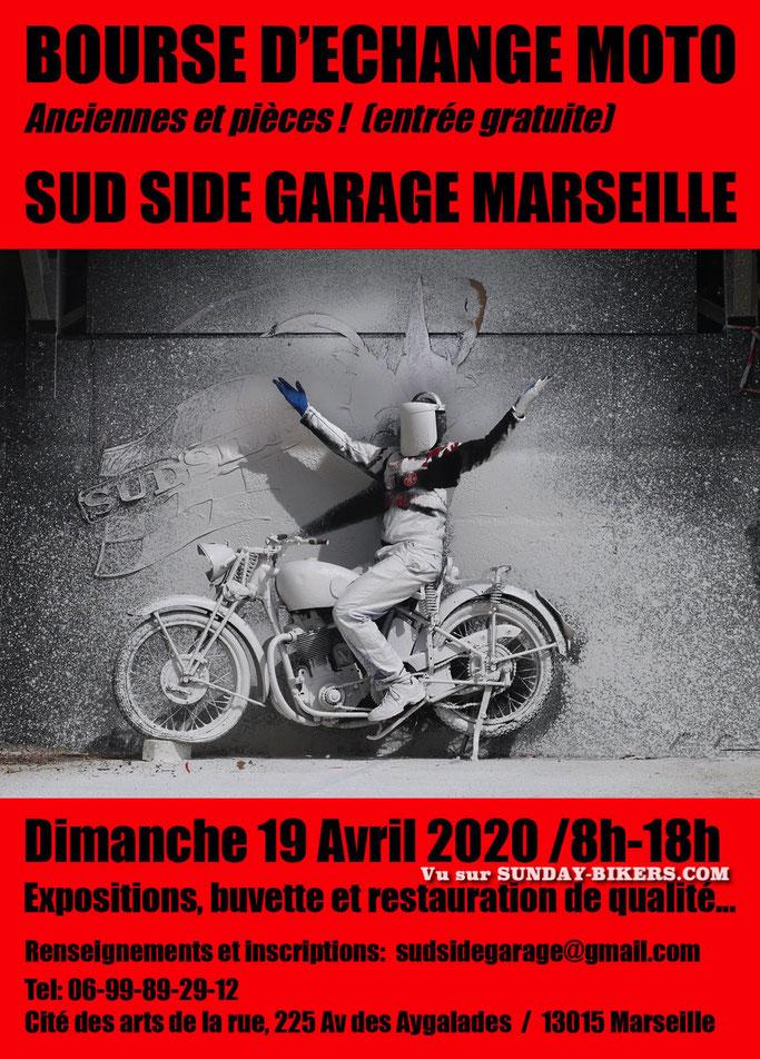 MANIFESTATION - Bourse D'échange Moto - Dimanche 19 Avril 2020 - Marseille (13015) Image237