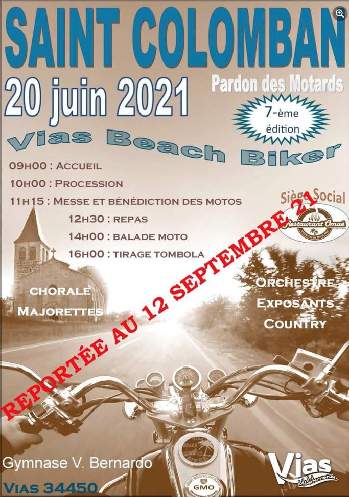 MANIFESTATION - Vias Beach Biker - 12 Septembre 2021 - Vias ( 34450 ) Image293