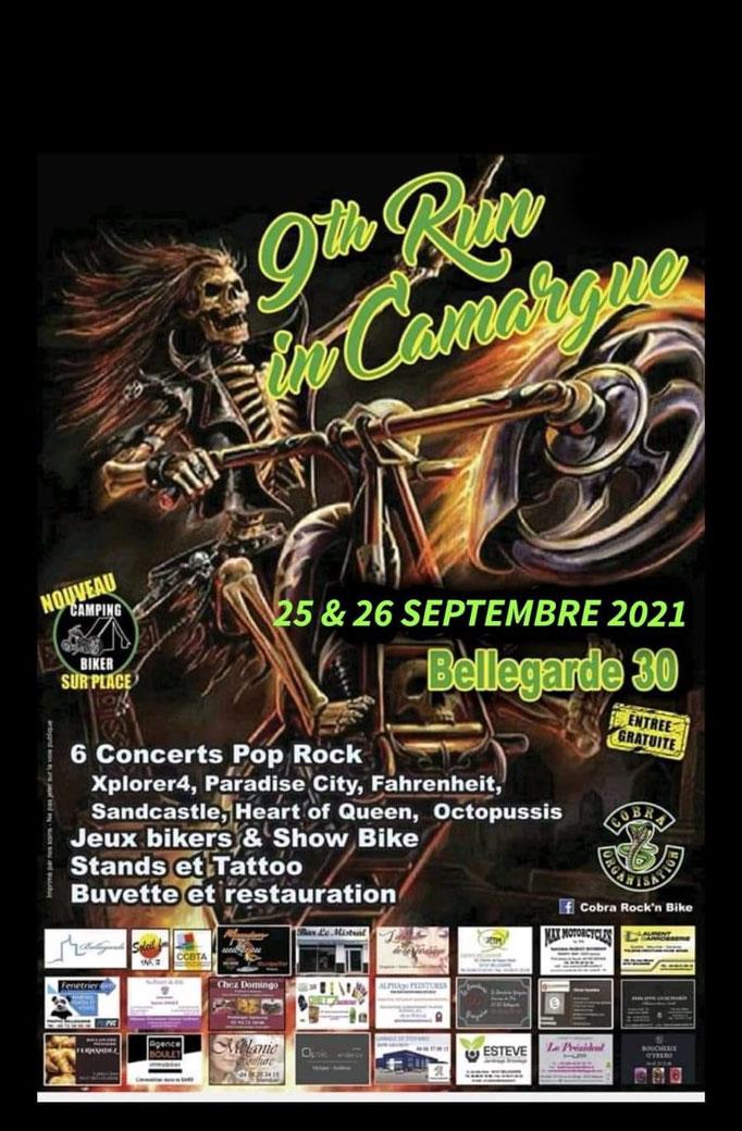 MANIFESTATION - 9Th Run In Camargue - 25 & 26 Septembre 2021 - Bellegarde (30) Image295