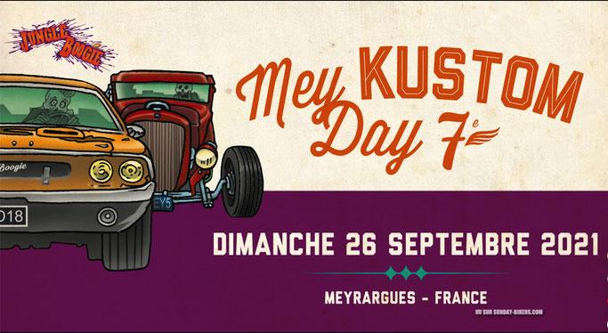 MANIFESTATION - Mey KUSTOM Day 7ème - 26 Septembre 2021 - Meyrargues - France - Image296