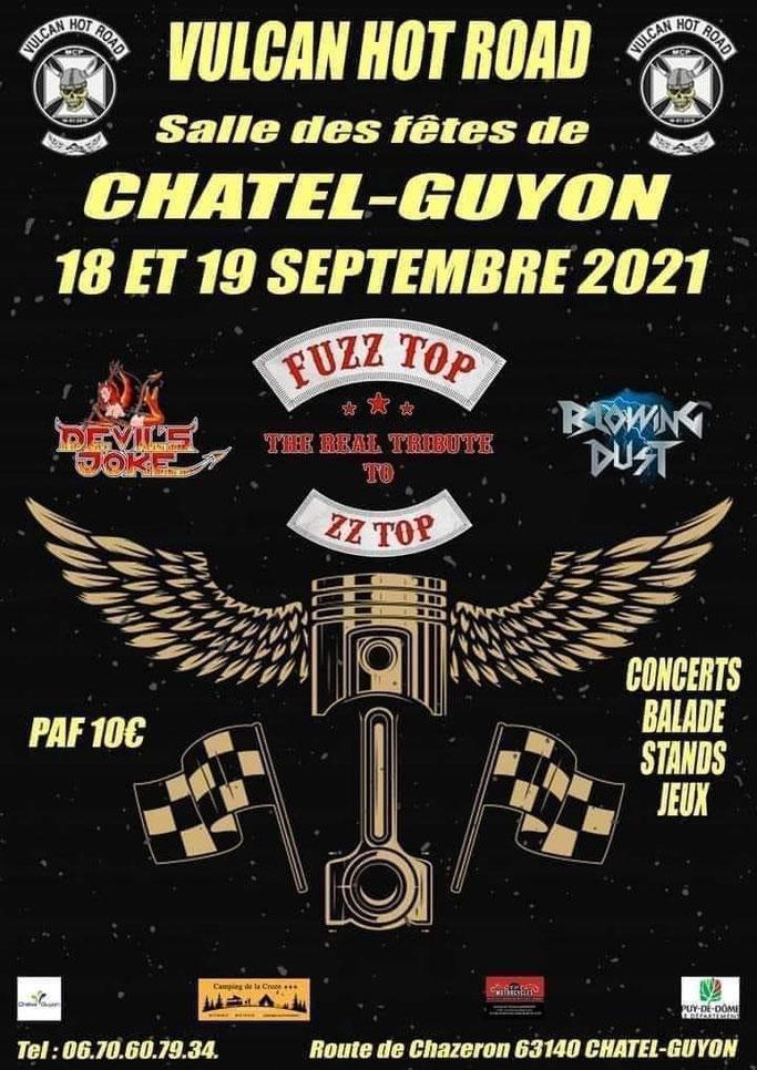 MANIFESTATION - Vulcan Hot Road - 18 & 19 Septembre 2021 - chatel - Guyon - Image297