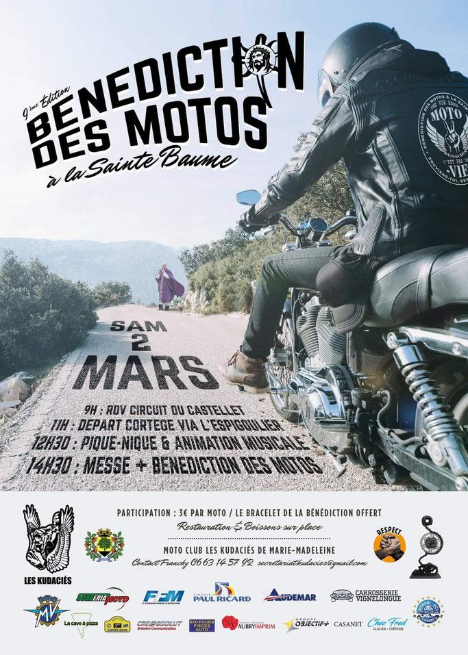 Bénédiction des Motos - Samedi 2 mars 2019 - Sainte Baume  Image31