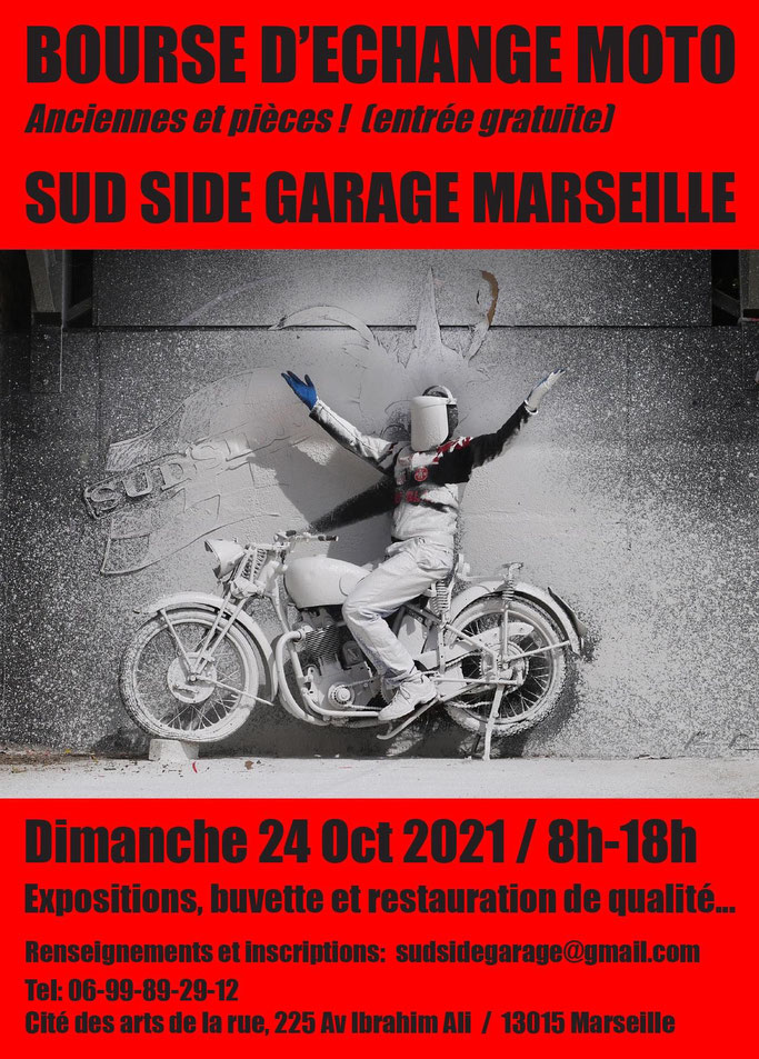MANIFESTATION - Bourse D'échange Moto - Dimanche 24 Octobre 2021 - Marseille  (13015) Image312