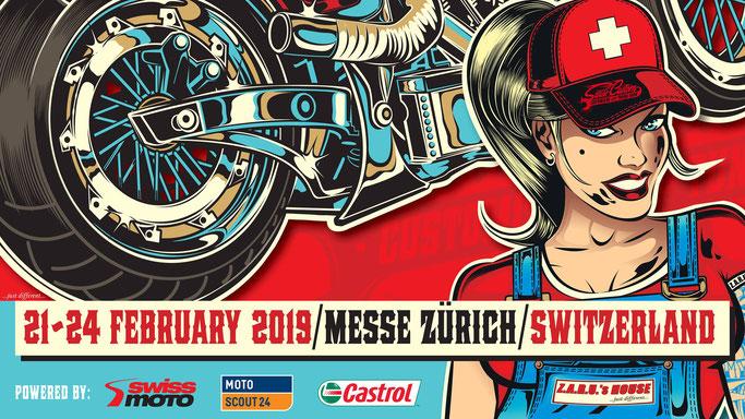 SWISS CUSTOM - 21-24 février 2019 - MESSE -ZURICH - SUISSE  Image33