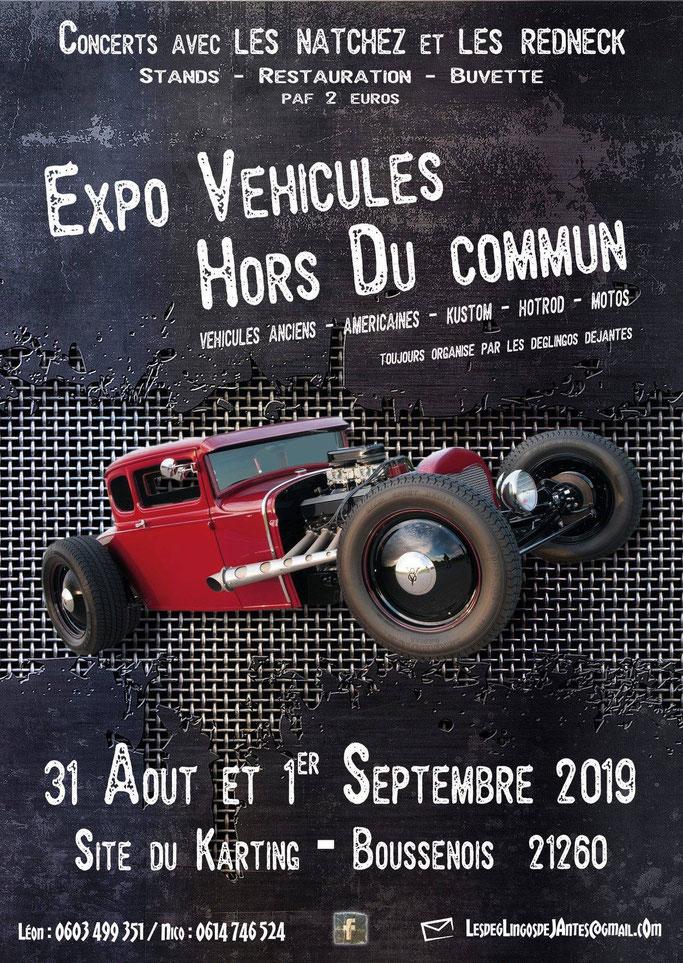 MANIFESTATION - Expo Véhicules - 31 AOUT & 1er Septembre 2019 - Boussenois (21260) Image50