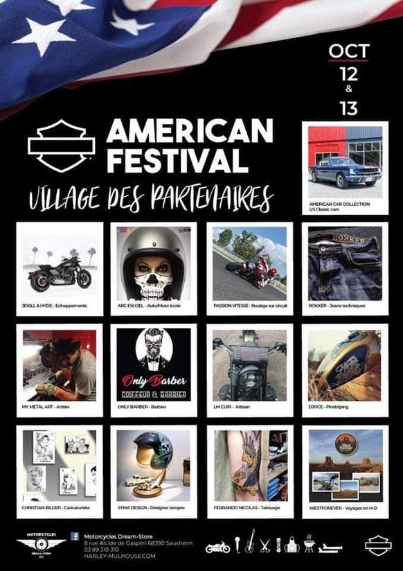 MANIFESTATION - Américan Festival - 12 & 13 Octobre 2019 - Sausheim (68) Image55