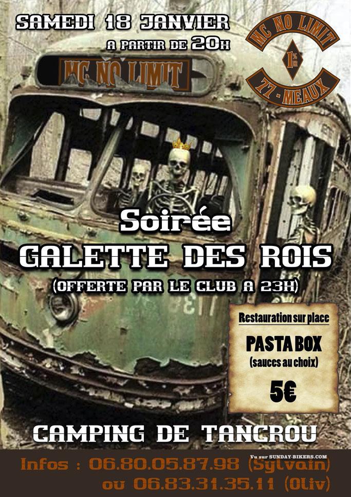 MANIFESTATION - Soirée Galette des Rois MC NO LIMIT 18 Janvier 2020 Meaux (77)  Image62
