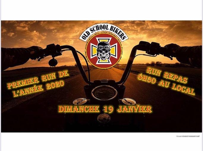 MANIFESTATION - Run toutes Motos - Dimanche 19 Janvier 2020 - Saint CESAIRE (30) Image64