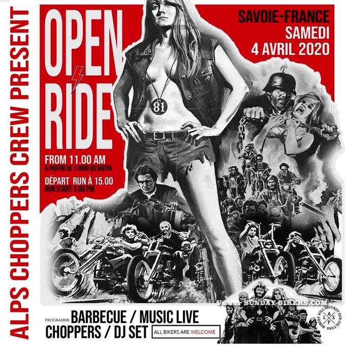 MANIFESTATION - Open Ride - Samedi 4 Avril 2020 - Savoie - France   Image68