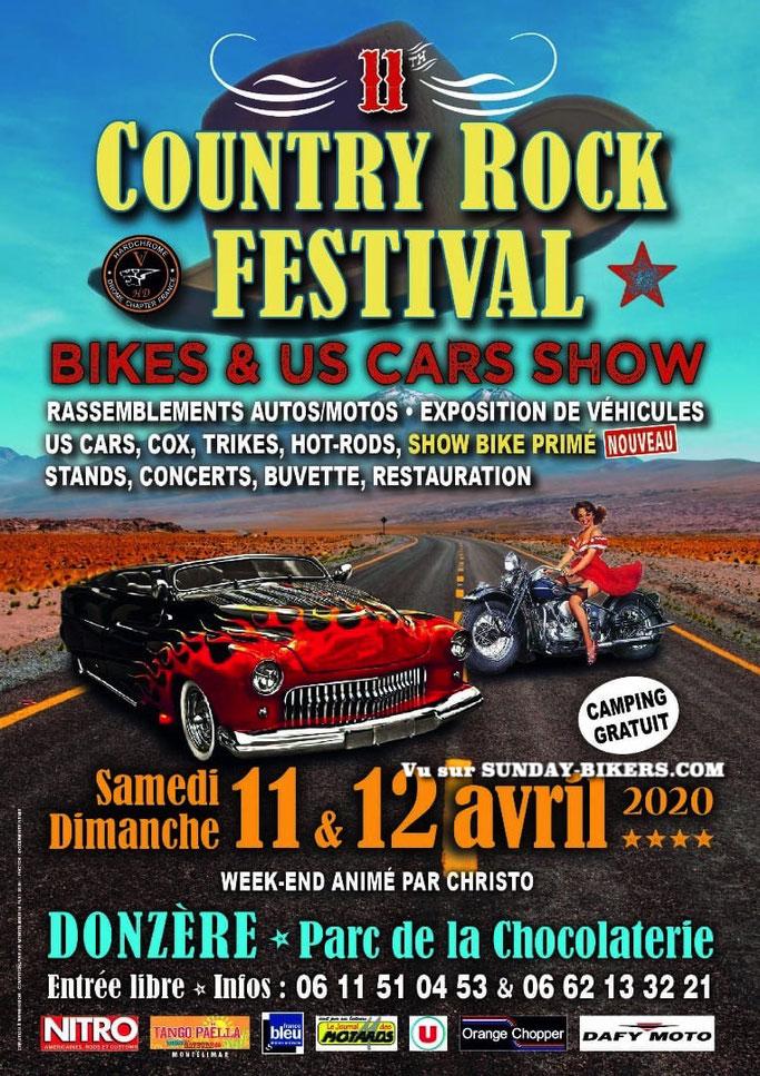 MANIFESTATION - Bikes & US Cars Show - 11 & 12 Avril 2020 - Donzère ( Parc de la Chocolaterie ) Image69