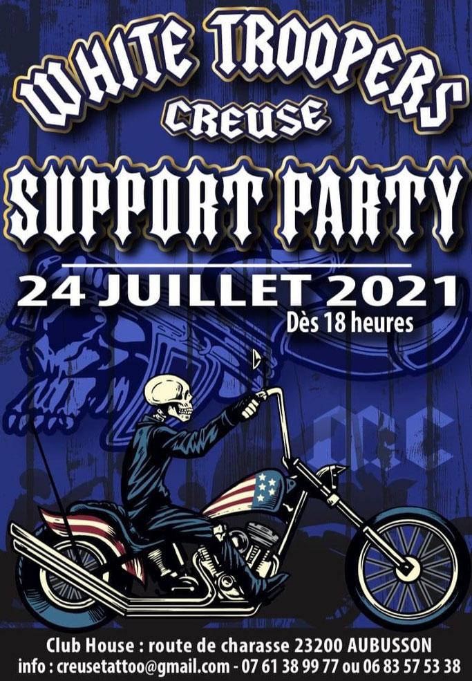 MANIFESTATION - Support Party - 24 Juillet 2021 - Aubusson (23200) Image78