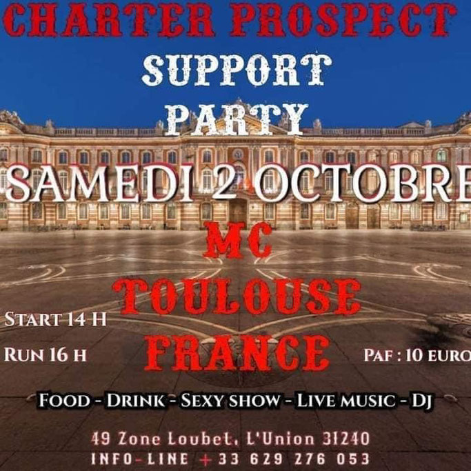 MANIFESTATION - Support Party MC Toulouse France - Samedi 2 Octobre 2021 - L'Union - (31240) Image87