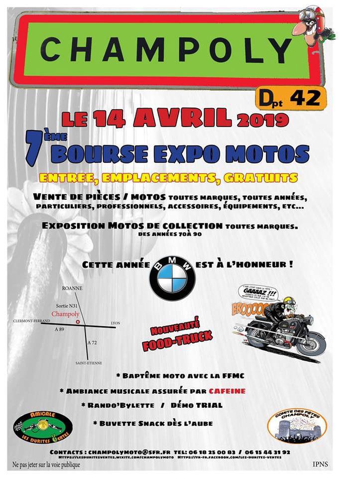 Bourse Expo Motos - 14 Avril 2019 - Champoly (Dpt 42) Image_95