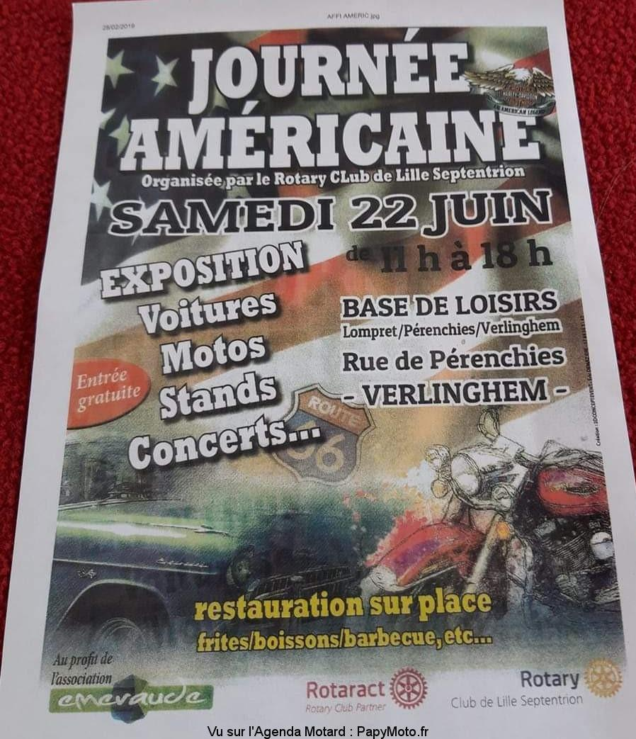 MANIFESTATION - Journée Américaine - Samedi 22 Juin 2019 - Verlinghem (59) Journz16