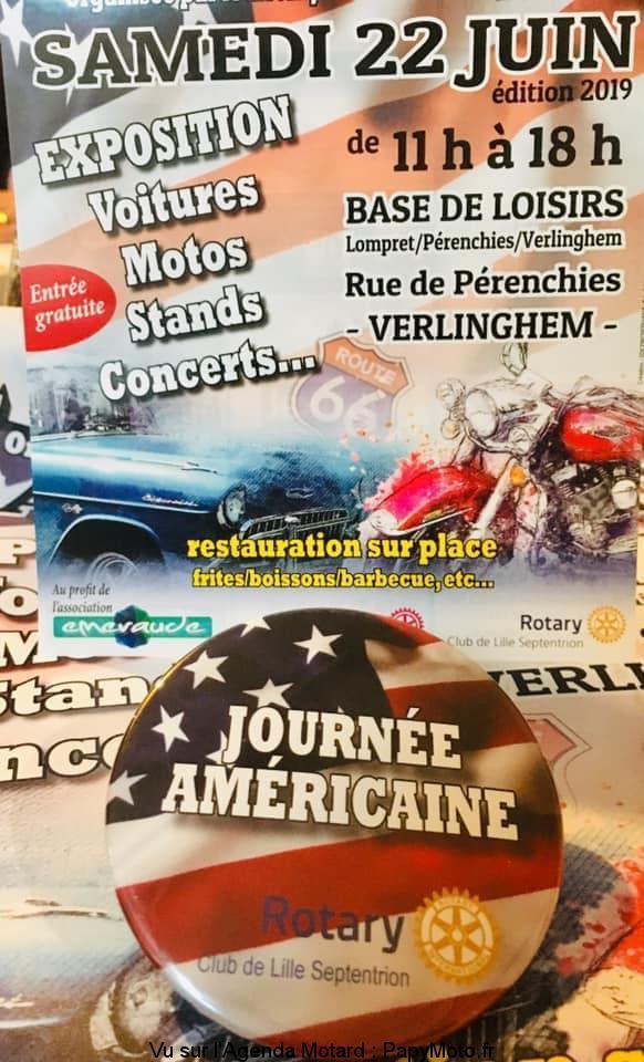 MANIFESTATION - Journée Américaine  Samedi 22 Juin 2019 - Verlinghem Journz20