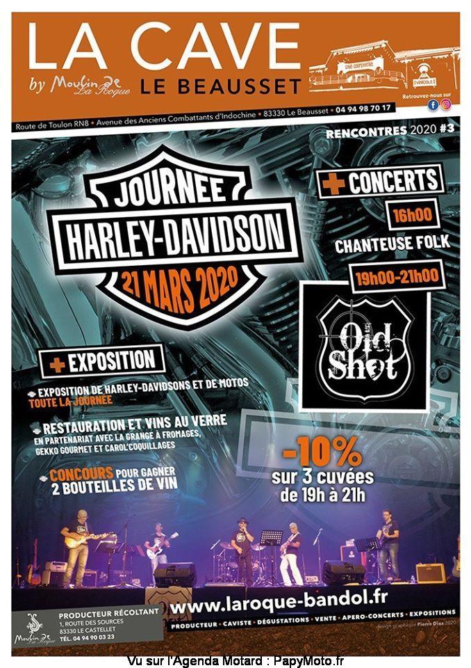 MANIFESTATION - Journée Harley-Davidson - & Expo Motos - 21 Mars 2020 - Le Beausset (83330) Journz22