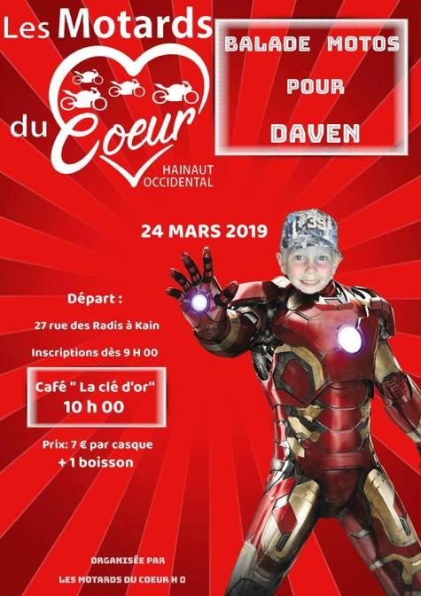 Balade Moto - Dimanche 24 Mars 2019 -  KAIN (Belgique ) Kain10