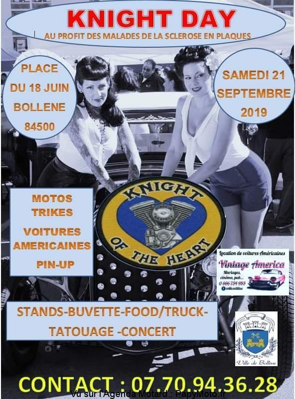 MANIFESTATION - Knight Day - Samedi 21 Septembre 2019 - Bollene (84500) Knight10