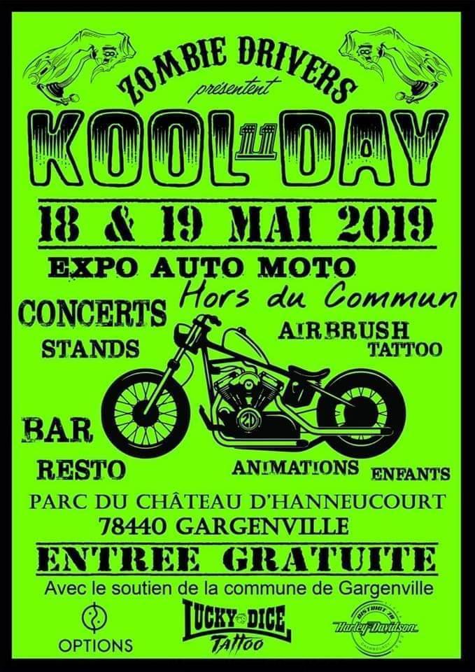 MANIFESTATION - Expo - 18 & 19 Mai 2019 - Gargenville - (78440) Kool-d10