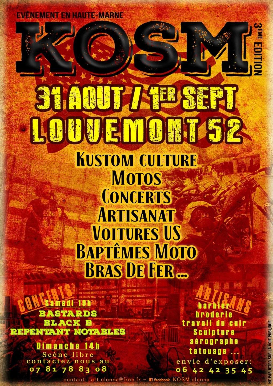 MANIFESTATION - KOSM 3ème Edition - 31 AOUT & 1er Septembre 2019 - Louvemont (52) Kosm-m10