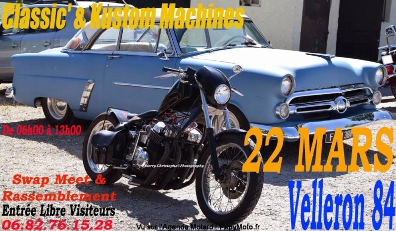 MANIFESTATION - Classic & Kustom Machines  -  22 Mars 2020 - Velleron (84) Kustom15