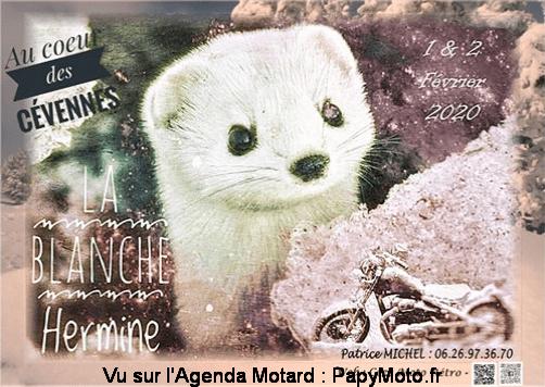MANIFESTATION - La Blanche Hermine  - 1 & 2 Février 2020 - BESSEGES  (30) La-bla11